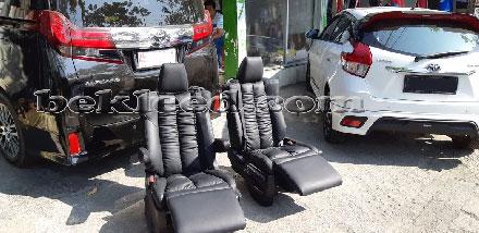 Bekleed Jok Mobil Toyota Alphard Surabaya